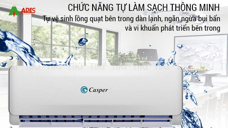 Co che tu dong lam sach thong minh