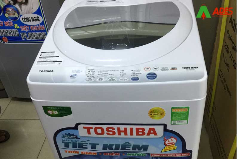 Hinh anh thuc te may giat Toshiba 7 kg AW-A800SV (WB)
