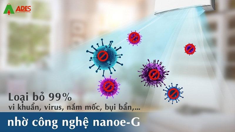Lam sach khong khi cung cong nghe Nanoe-G